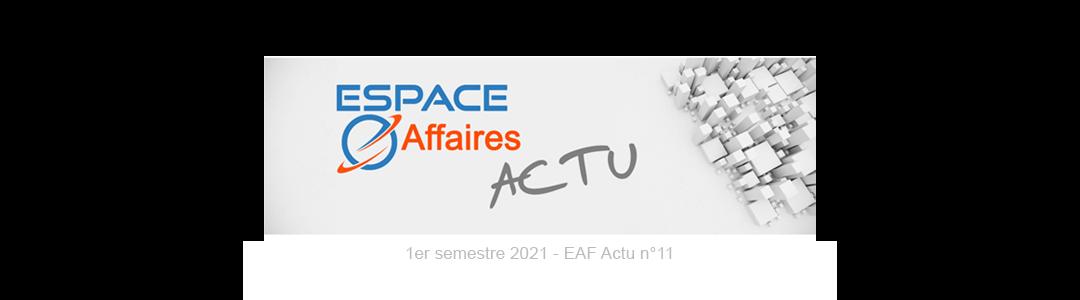 EAF Actu n°11 - Mai 2021
